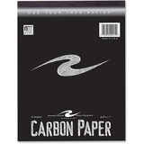 "Roaring Spring Carbon Paper Tablet - 8.50"" x 11"" - 1 / Each - Black ROA22915"