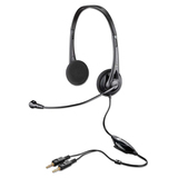 Plantronics .Audio 326 Noise-Canceling Headset - Stereo - Silver - Wired - Over-the-head - Binaural  PLNAUDIO326