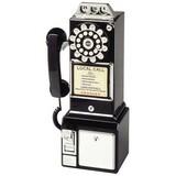 Crosley 1950 Standard Phone - Black