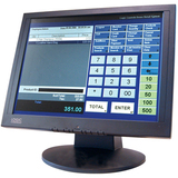 "Logic Controls LE1000 15"" LCD Touchscreen Monitor - 8 ms"