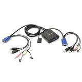 IOGEAR GCS72U KVM Switch with Audio