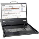 Tripp Lite NetCommander B070-016-19 Rackmount LCD with KVM Switch - Steel Housing