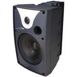 Speco SP6AWXT 50 W RMS - 100 W PMPO Outdoor Speaker - 2-way - 2 Pack - Black