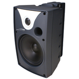 Speco SP5AWXT 40 W RMS - 80 W PMPO Outdoor Speaker - 2-way - 2 Pack - Black