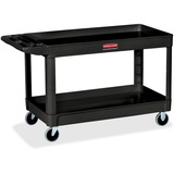 "RCP9T6700BLA - Rubbermaid Commercial 4"" Casters 2-shelf Util..."