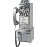 Crosley CR56-BC Standard Phone - Brushed Chrome
