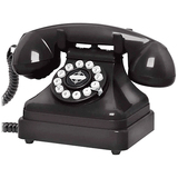 Crosley CR62 Standard Phone - Black