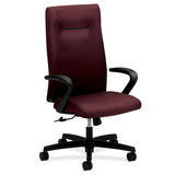 """HON Ignition Executive High Back Chair - 5-star Base - Wine - 27"""" Width x 27"""" Depth x 46.8"""" Height HONIEH1FHUNT69T"""