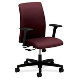 "HON Ignition Low Back Task Chair - 5-star Base - Wine - 27"" Width x 27"" Depth x 41.3"" Height HONITL1AHUNT69T"