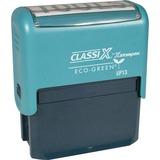 XSTEP13 - Xstamper Custom Self-ink 1-6 Line Message St...