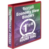 SAM18553 - Samsill Economy Round Ring View Binders