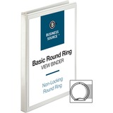 BSN09951 - Business Source Round-ring View Binder
