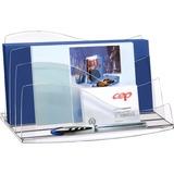 CEP 3 Step Letter Sorter - 3 Compartment(s) - Desktop - Crystal - Polystyrene - 1Each CEP3501105