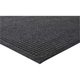 "Genuine Joe Eternity Mat - Indoor - 60"" Length x 36"" Width - Plastic, Rubber - Charcoal Gray GJO58936"