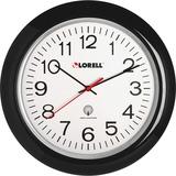 "LLR60994 - Lorell 13-1/4"" Radio Controlled Wall Clock"