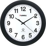 "LLR60997 - Lorell 12"" Round Radio Controlled Wall Clock"