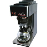 Coffee Pro Commercial Pour Over Brewer - Stainless Steel CFPCP2B