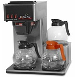 Coffee Pro Commercial Pourover Brewer - Stainless Steel - Stainless Steel CFPCP3LB