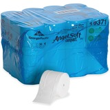 "Angel Soft PS 2-ply Bath Tissue - 2 Ply - 3.85"" x 4.05"" - 750 Sheets/Roll - 4.75"" Roll Diameter - Wh GPC19371"