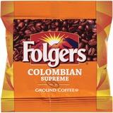 Folgers Colombian Ultra Roast Coffee - Regular - Dark/Bold - 0.9 oz - 150 / Carton FOL06142