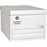 BSN42051 - Business Source Economy Storage Box with Lid