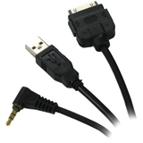 PIE PIO/USB-200V Audio/Video Cable Male Proprietary - Male USB, Male Audio/Video