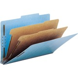 "Smead 100% Recycled Pressboard Colored Classification Folders - Legal - 8 1/2"" x 14"" Sheet Size - 2"" SMD19021"