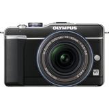 Olympus PEN E-PL1 12.3 Megapixel Mirrorless Camera with Lens - 14 mm - 42 mm - Black