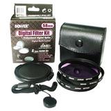Bower VFK58C Filter Kit - Ultraviolet, Polarizer, Neutral Density Filter