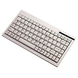 White Mini Keyboard - compatible with Axis 7000 Scan Server