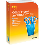 Microsoft Office 2010 Home and Business - 32/64-bit - 1 User