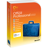 Microsoft Office 2010 Professional - 32/64-bit - Complete Product - 1 PC