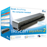 I.R.I.S. IRIScan Anywhere 2 Sheetfed Scanner - 600 dpi Optical