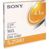 "Magneto Optical Rewritable Disk, 5.25"", 4.1GB (8x)  MPN:EDM4100"