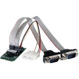 StarTech.com 2 Port RS232 Mini PCI Express Serial Card w/ 16950 UART