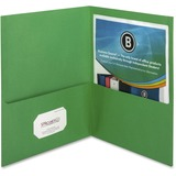 BSN78493 - Business Source Two-Pocket Folders