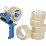 "SKILCRAFT 7510-01-579-6872 Packaging Tape with Dispenser - 2"" Width x 55 yd Length - Polypropylene - NSN5796872"
