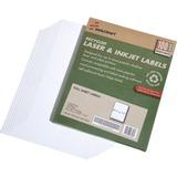 "SKILCRAFT 7530-01-578-9298 Full Sheet File Folder Label - 8.50"" Width x 11"" Length - 1 / Sheet - Rec NSN5789298"