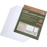 "SKILCRAFT 7530-01-578-9299 Name Badge Label - 2.33"" Width x 3.38"" Length - 8 / Sheet - Rectangle - L NSN5789299"