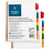 Business Source Tear-resistant Tab Index Dividers