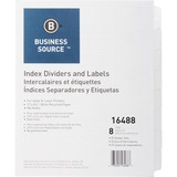 BSN16488 - Business Source Unpunched Index Divider...