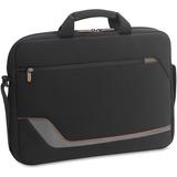 "Solo Vector Carrying Case (Briefcase) for 17.3"" Notebook - Black - Neoprene - Shoulder Strap x 18"" W USLVTR1244"
