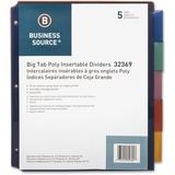 Business Source Single Pocket Index Divider
