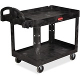 RCP452088BK - Rubbermaid Commercial Medium Utility Cart wit...