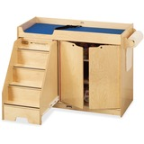 JNT5131JC - Jonti-Craft Pull-out Stairs Changing Table