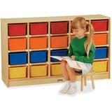 JNT0421JC - Jonti-Craft Rainbow Accents 20 Cubbie-tray ...