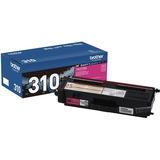 BRTTN310M - Brother Genuine TN310M Magenta Toner Cartridge