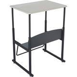 SAF1201BE - Safco AlphaBetter Desk, 28 x 20 Standard Top, w...