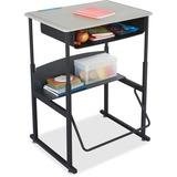 SAF1202BE - Safco AlphaBetter Desk, 28 x 20 Standard Top wi...