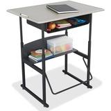 SAF1207BE - Safco AlphaBetter Desk, 36 x 24 Standard Top wi...